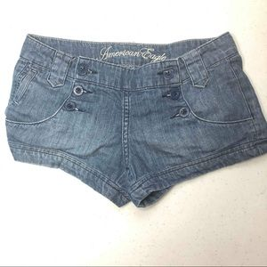American Eagle Denim Jean Shorts Size 0/0